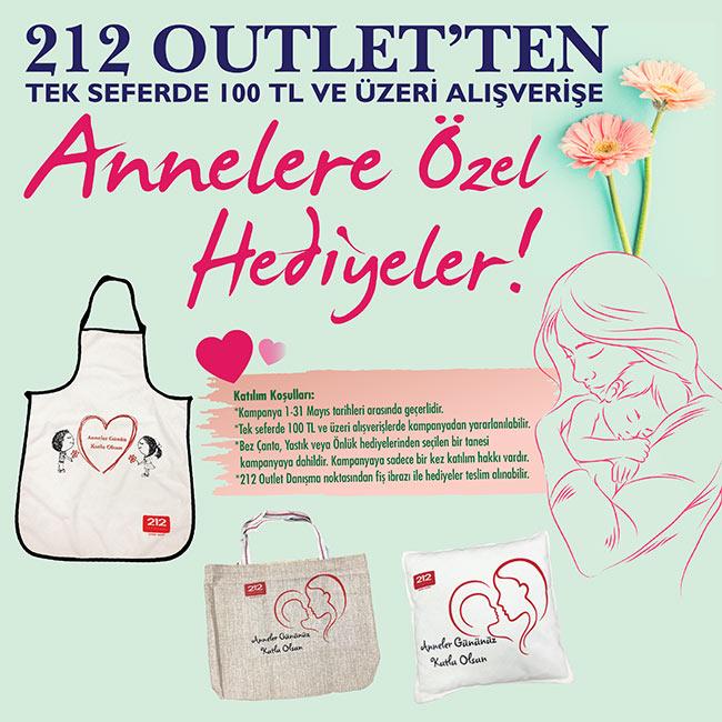 ANNELERE ÖZEL HEDİYELER 212 OUTLET'TEN