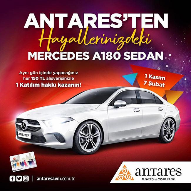 ANTARES'TEN HAYALLERİNİZDEKİ MERCEDES A180 SEDAN!