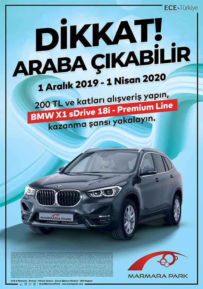 Marmara Park Yeni Yılda Bir Kişiyi BMW Sahibi Yapıyor
