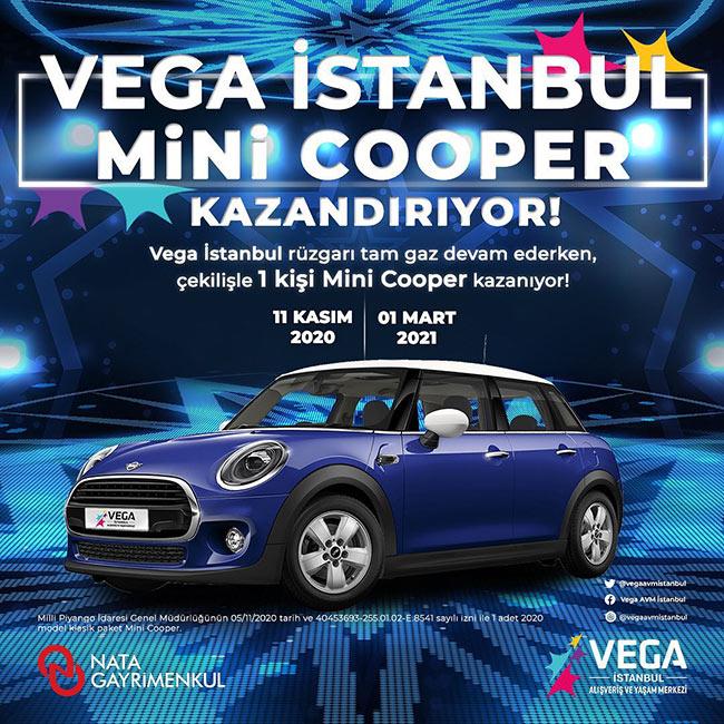 Vega İstanbul'da Mini Cooper Rüzgarı Esiyor!