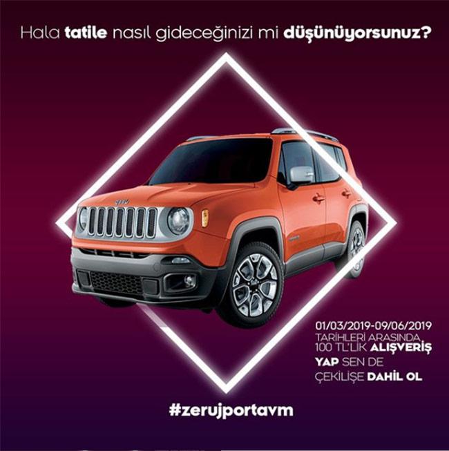 Zerujporttan Jeep Renegade Kazanma Şansı Sizleri Bekliyor..