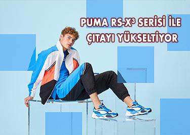 PUMA RS-X³ SERİSİ İLE ÇITAYI YÜKSELTİYOR