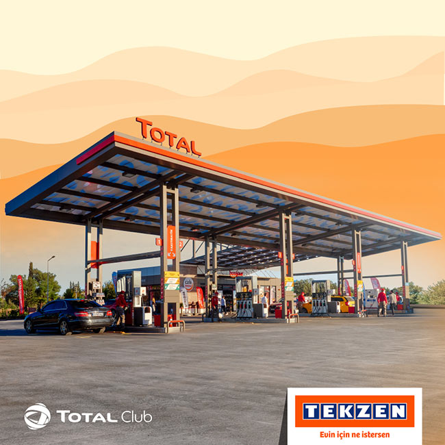 Tekzen'den Alın Total İstasyonlarında Kazanın