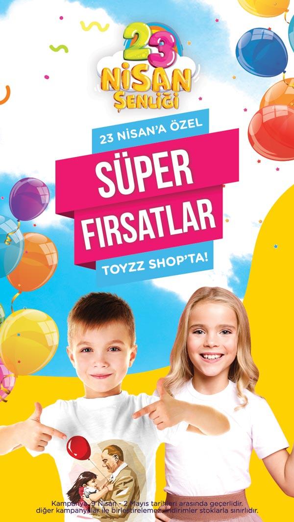 Toyzz Shop 23 Nisanı özel fırsatlarla kutluyor