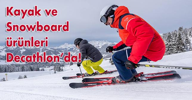 Kayak ve snowboard ile ilgili aradığınız tüm ürünler Decathlon'da!