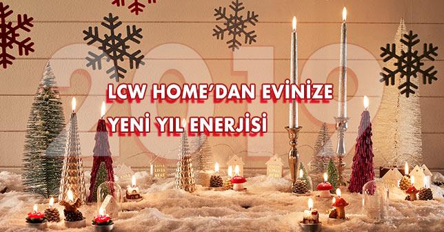 LCW Home'dan Evinize Yeni Yıl Enerjisi
