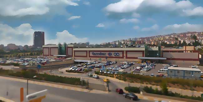 CARREFOUR İçerenköy Avm, Carrefour'un Türkiye'deki ilk alışveriş merkezi olarak, yılının Nisan ayında İstanbullularla buluştu.