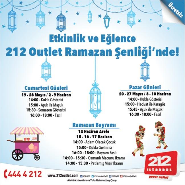 ÖZLENEN  RAMAZAN  ŞENLİĞİ  212 İSTANBUL'DA BAŞLIYOR!