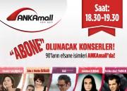90'ların Efsane İsimleri AnkaMall Avm'de