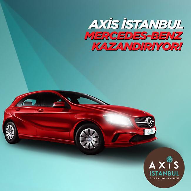 Hayalinizdeki araç Axis İstanbul kadar yakında!