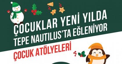 Tepe Nautilus, Aralık ayı boyunca her hafta sonu etkinlikleriyle yeni yılı karşılıyor