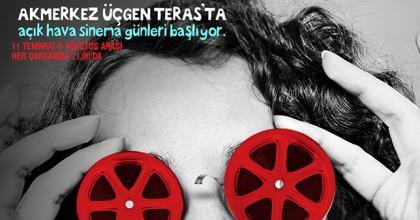 Üçgen Teras'ta Açık Hava Sineması Başlıyor!