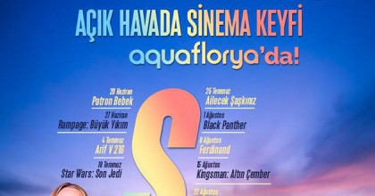 Açık Havada Sinema Keyfi Yaz Boyunca Aqua Florya'da!