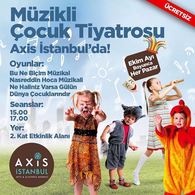 Müzikli Çocuk Tiyatrosu Axis İstanbul Avm'de