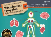Vücudumuzu Tanıyoruz Sergisi Beylikdüzü Migros Avm'de