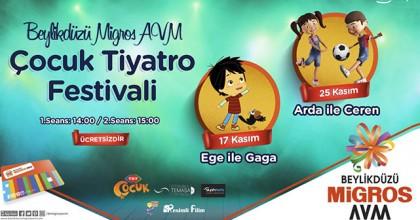 Beylikdüzü Migros Avm Tiyatro Festivali Başlıyor!