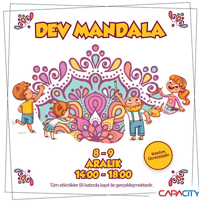 Capacity Avm'de Dev Mandala Boyama ile Gizemli Desenleri Keşfet