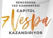 CAPITOL' DEN RENGÂRENK 7 VESPA