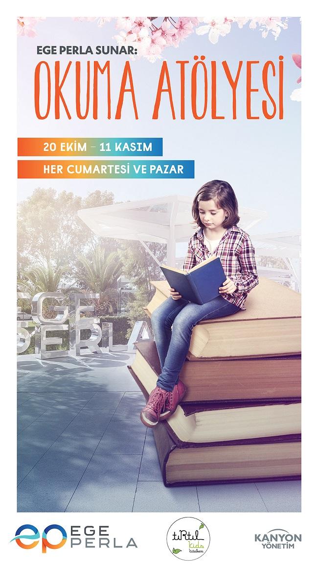 Ege Perla Okuma Atölyesi ile Çocuklar Eğlenirken Öğrenmenin Tadını Çıkarıyor..