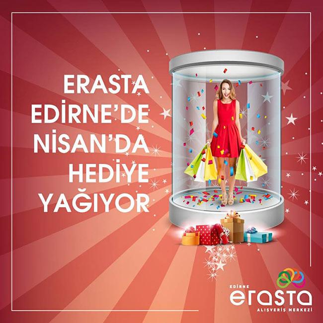 Erasta Edirne'nin Hediye Kabini Sürprizlerle Açılıyor..