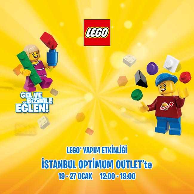 Sömestir'in Eğlencesi Lego Yapım Etkinliği İstanbul Optimum'da!