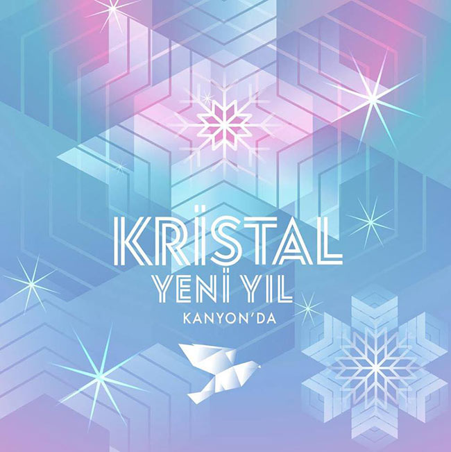 Kristal Yeni Yıl Kanyon'da