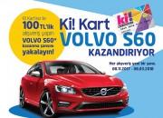 Ki! Kart bu kez Volvo S60 Kazandırıyor!