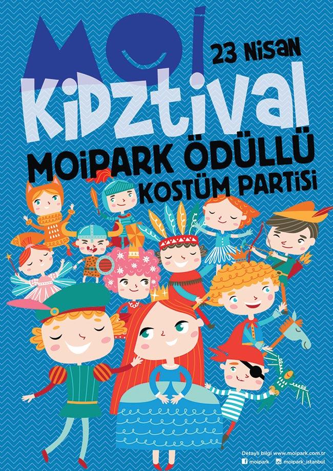 Mall of İstanbul'da KIDZTIVAL Çocuk Festivali Başlıyor!