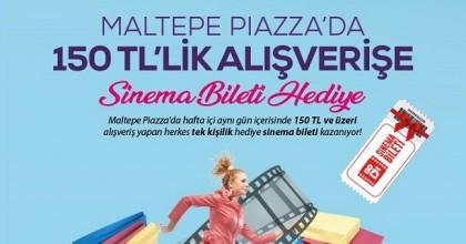 Maltepe Park Piazza'dan Sinema Bileti Hediye
