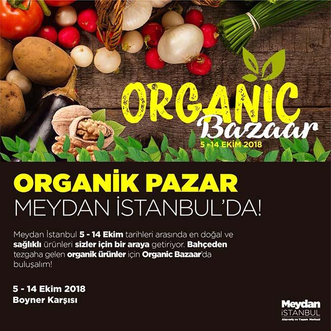 Organik Pazar Meydan İstanbul'da
