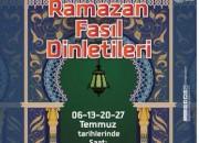 Migros Avmde Ramazan Fasıl Dinletileri
