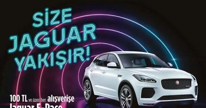 Göz Kamaştıran Jaguar E-Pace Sahibini Bekliyor...