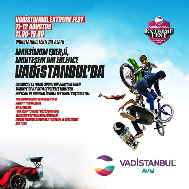 Limitler Vadistanbul Extreme Fest'te Aşılıyor