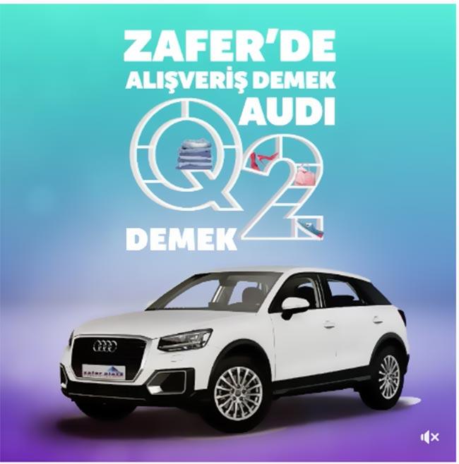 Zafer Plaza'da Alışveriş Demek Audi Q2 demek..