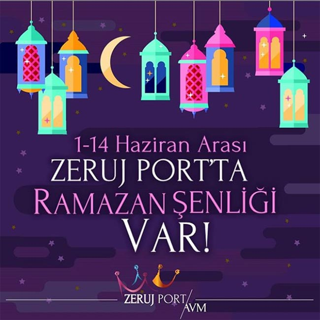 Zeruj Port'ta Ramazan Şenliği Var!