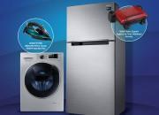 Samsung Buzdolabı ve Çamaşır Makineleri Şimdi Tefal Ütü ve Tost Makinesi Hediyeli